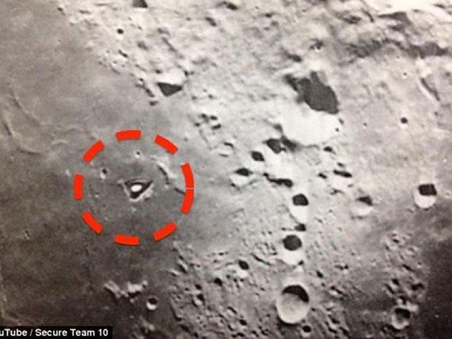 Kolejny tajemniczy obiekt na powierzchni Księżyca - YouTube